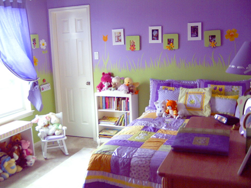Distinct decorating interior decorating based in houston texas - Little girl purple bedroom ideas ...